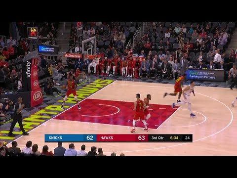 3rd Quarter, One Box Video: Atlanta Hawks vs. New York Knicks