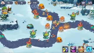 [Android Game Guide] How To Pass Castle Defense Invasion Stage 8-1 Extremely Cold Land Normal