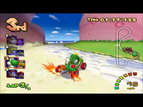 Mario Kart Double Dash: 300cc (Action Replay)