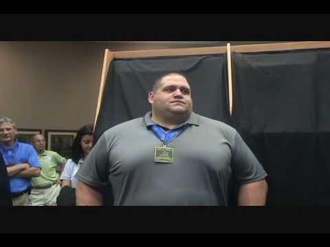 Rulon Gardner induction into National Wrestling Hall of Fame