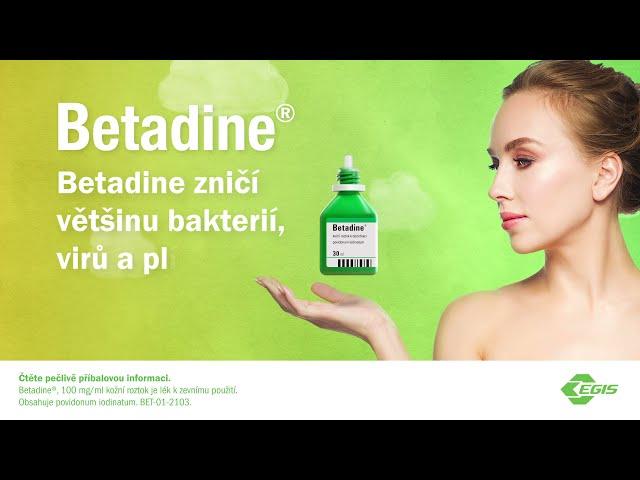 Máte už v lékárničce dezinfekci Betadine? 6
