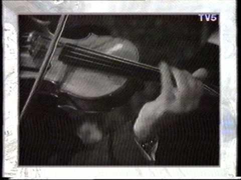 Stephane Grapelli and Django Reinhardt footage.