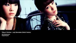 TaeYeon & Tiffany - Lady Marmalade (Studio Version) w/ Download Link!