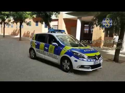 👮 Un año de la Policía Local de Sevilla. #23Nov 2017