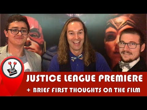 Justice League Movie Premiere (South Africa) & brief thoughts on the film - Vamers