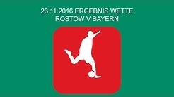 Ergebnis Wette Rostow Bayern Quoten