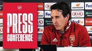 Aubameyang confirmed as club captain | Press Conference | Unai Emery & Hector Bellerin