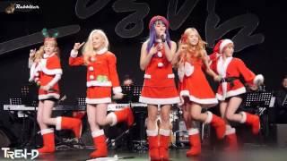 Валенки / DJ Lavitas Remix русской народной песни. Новогодние костюмы кореянок из Tren-D