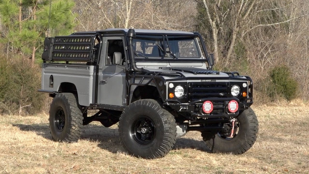 1984    Land       Rover       Defender       110    SOLD  136334  YouTube