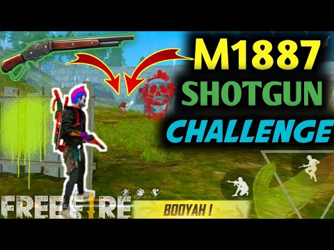 Only M1887 Challenge In Rank- Chotu Shotgun Ka Bada Bhai- Romeo Free Fire🙂