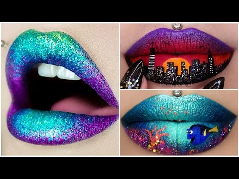 Instagram Lip Makeup Compilation