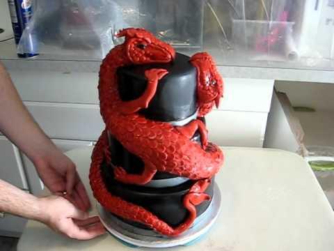 Youtube How To Make A Dragon Cake