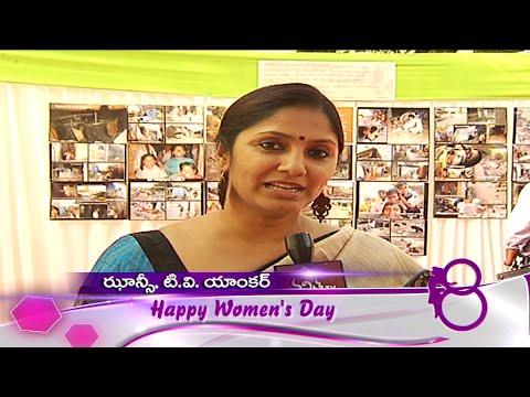 Anchor Jhansi Women's Day Wishes