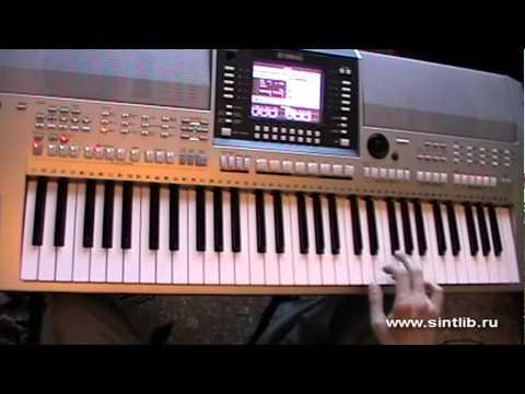 Modern talking - Cheri cheri lady игра на синтезаторе