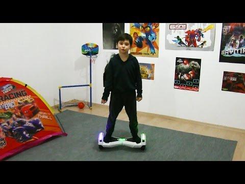 Hoverboard Elektrikli Kaykayı Evde Denedik - Vlog
