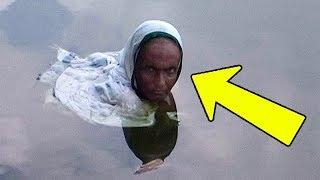 20 лет эта женщина сидит по шею в озере! И вот почему…