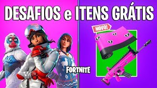 FORTNITE-NEW CHALLENGES, FREE ITEMS and STYLES-VALENTINE'S DAY EVENT!