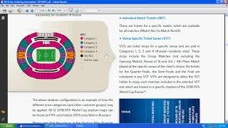 Types of FIFA World Cup 2022 Tickets   Team & Venue Specific Tickets   Disability Access Tickets