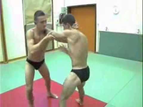 Hot wrestling match