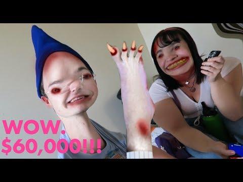 $60,000 PEDICURE DISASTER w/ Enjajaja (only 7 toes)