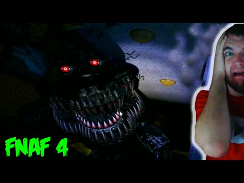 SECRET NIGHT IN FIVE NIGHTS AT FREDDY'S 4 - FNAF 4 Official Gameplay (Scary Jumpscares)