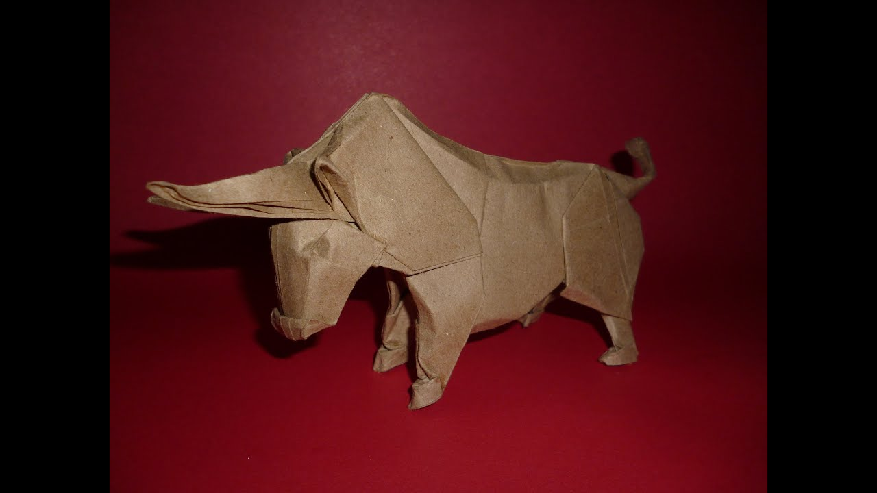 Origami Bull Instructions  Stephan Weber