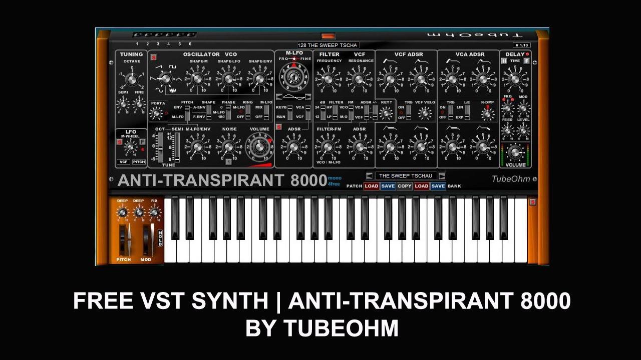 tubeohm antitranspirant 8000m