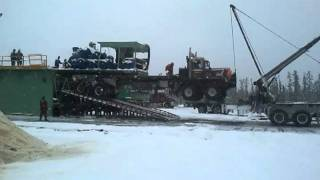 Rig moving