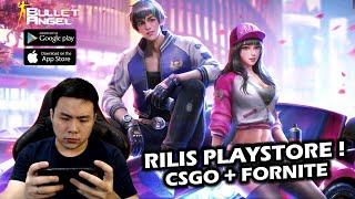 Rilis Playstore!  CSGO Campur Fornite ? - Bullet Angel: Xshot Mission M (Android) screenshot 1