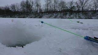 Клюёт на каждом опускании мормышки! Зимняя рыбалка 2020