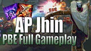 AP Jhin Gameplay - League of Legends