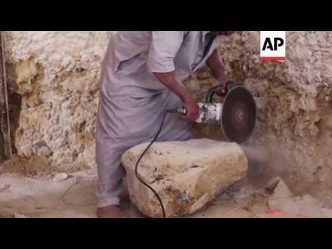 Inside the Egyptian eco resort made of salt rock