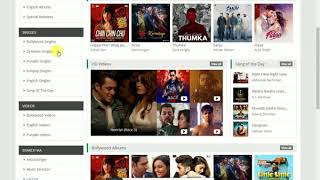 Top 5 sites to download Bollywood  songs albums