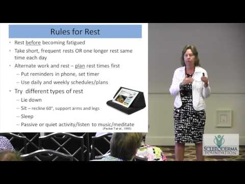 2016 - New Orleans - Practical Tips to Manage Fatigue in Scleroderma