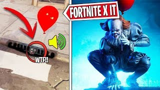 FORTNITE X IT NEW SECRET GLOBES ARE MOVEED AND DISAPPEARED, LIVE FORTNITE !!