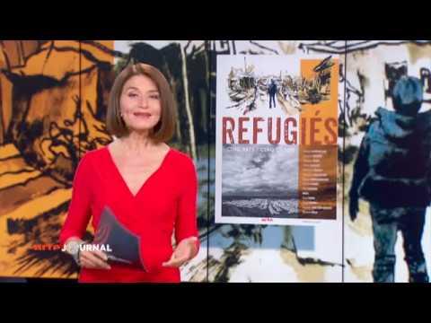 L'exposition Réfugiés sur Arte