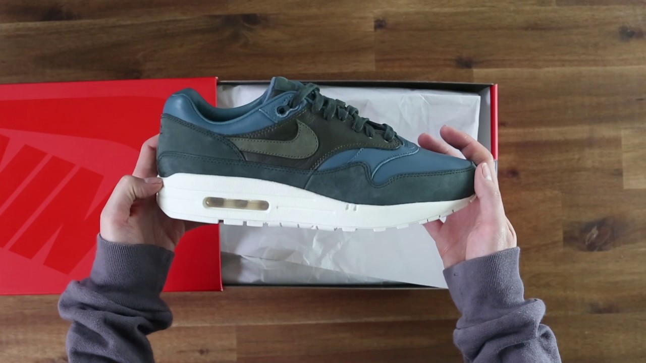 watch 0c2a8 cfee6 Nike NikeLab Air Max 1 Pinnacle Green  TINT Footwear Studio
