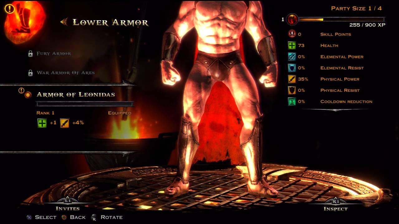 god of war ascension multiplayer customization