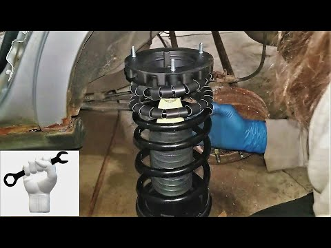1994-2007 Taurus Sable Rear Strut Assembly Replacement