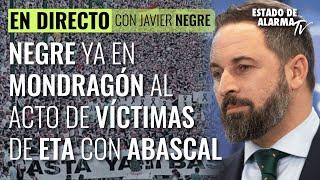 DIRECTO Negre rumbo a Mondragón en apoyo a las víctimas de ETA