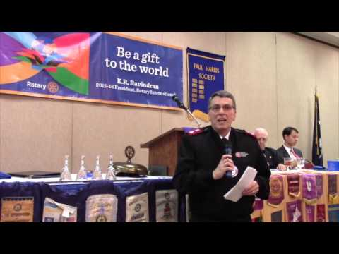 Columbia Rotary:  January 11, 2016