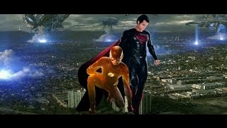 vuclip Superman and The Flash Team Up To Stop The Singularity (Fan-Made)