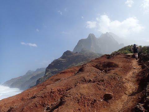 The Kalalau Trail, Nā Pali Coast State Park. Kauai, Hawaii.
