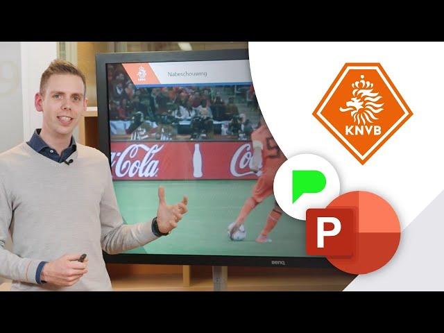 Hoe scoort de KNVB met PowerPoint?