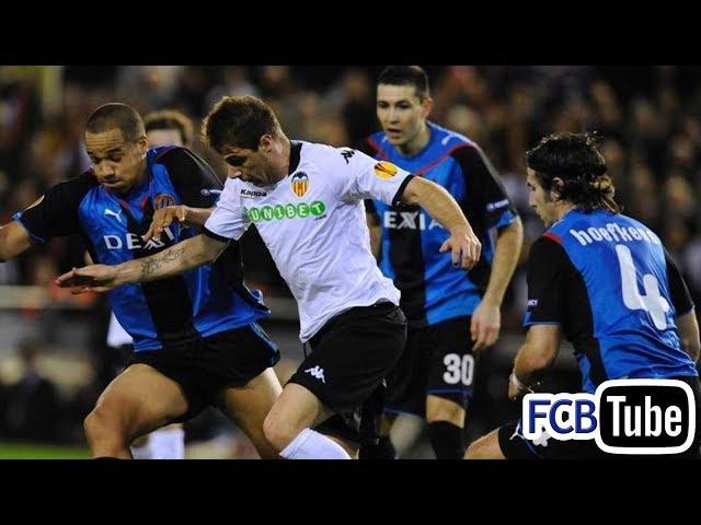2009-2010 - Europa League - 12. 16de Finale - Valencia CF - Club Brugge 3-0