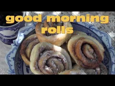 good morning rolls- cinnamon rolls cousins