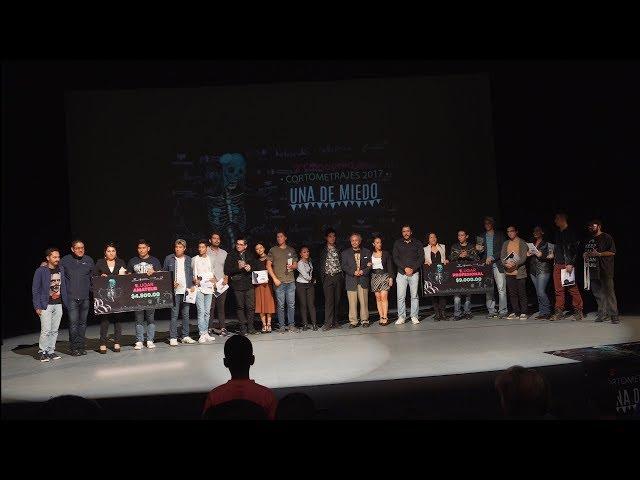Premiación cortometrajes