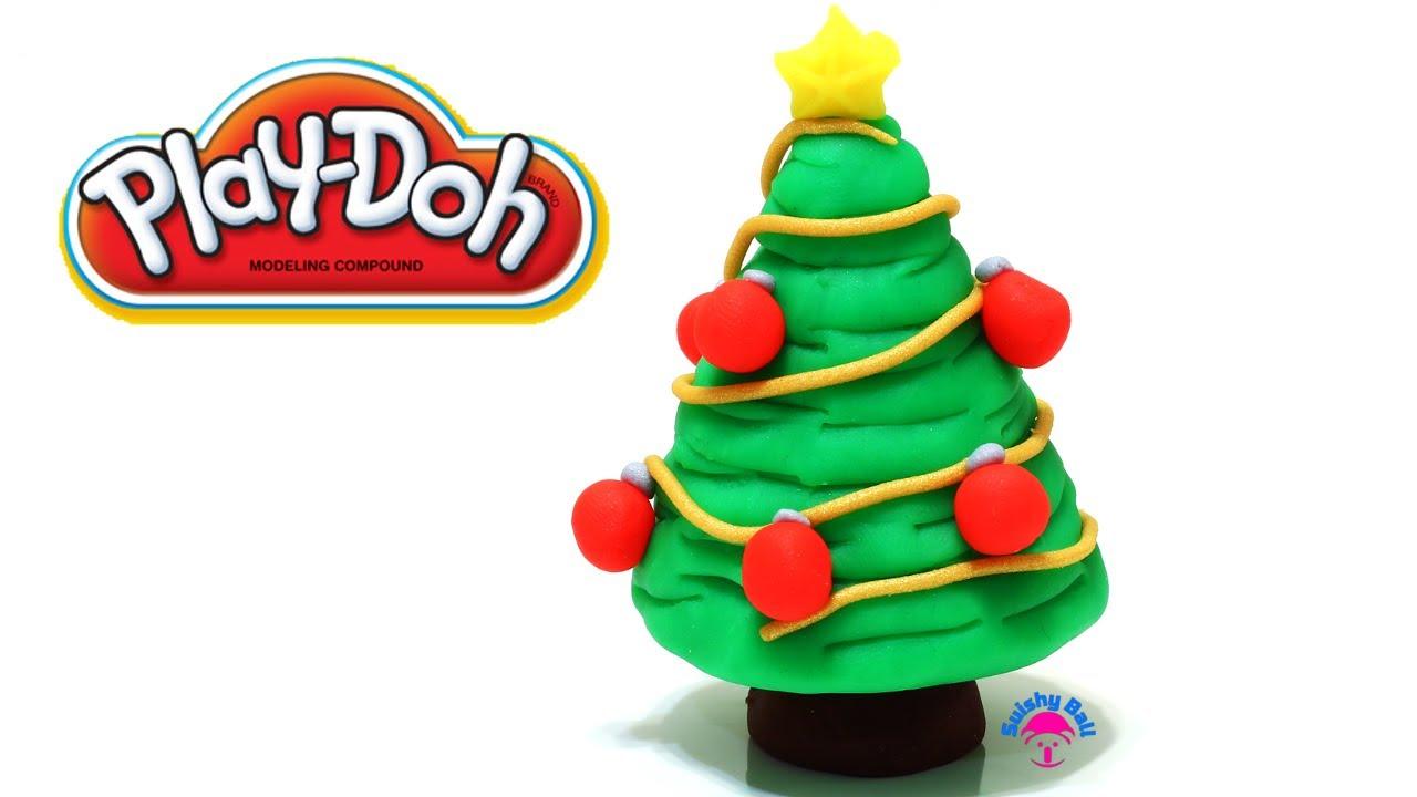 PlayDoh Xmas Christmas Tree  YouTube