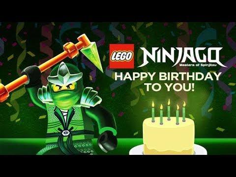 Feliz Cumpleanos En Latino Ninjago Diego De Lego Youtube