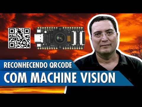 Reconhecendo QRCode com Machine Vision